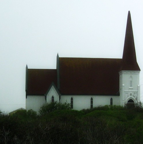 Peggy's Cove Church by BeverlyDiane