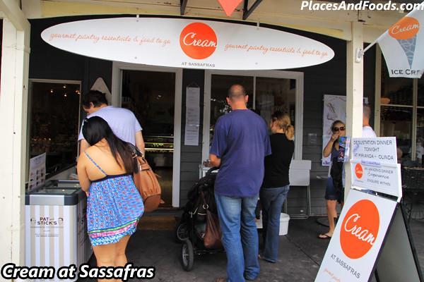 Cream at Sassafras1