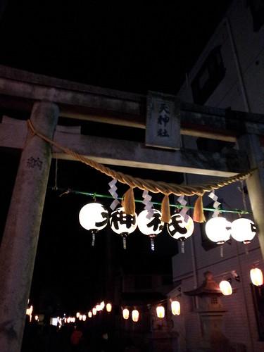 初参り@新川天神神社