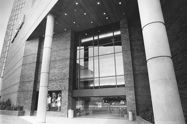 Nordstrom Glendale Galleria store 1984