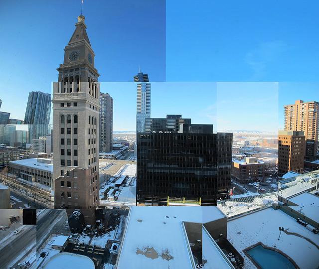Denver vista do quarto de hotel