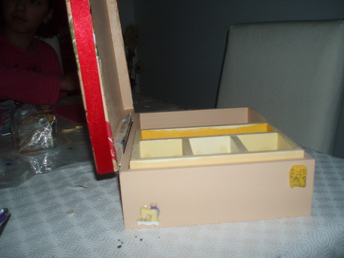 caixa costura - vista de lado