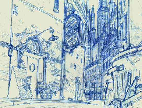 bocetos storyboards