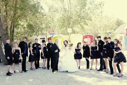 16 person wedding party