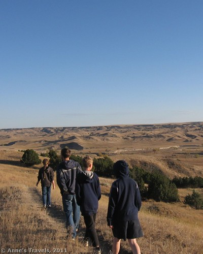 Sage Creek Campground, Badlands National Park, South Dakota