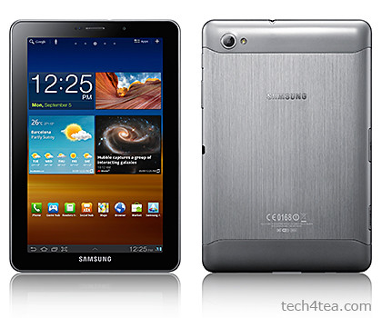 Samsung GALAXY Tab 7.7. Will be available in Singapore in February 2012 at S$898 (incl GST).