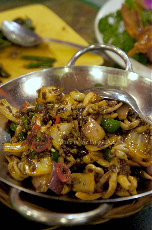 Dry Wok Fry Squid (RM22)