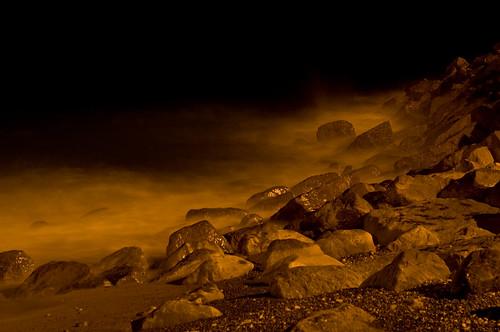 sea seascape beach water nikon rocks waves slowshutter 365 oman d300 musandam project365 365days