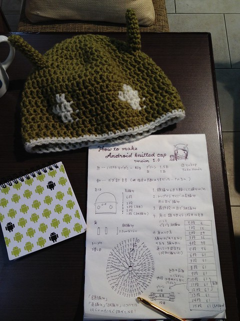 How to make Android knitted cap