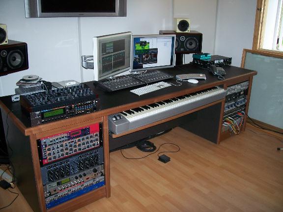Writers Studio Desk Recording Studio Furniture Flickr Photo Sharing