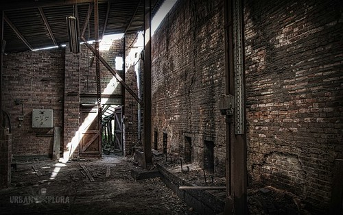 Abandoned brickfactory