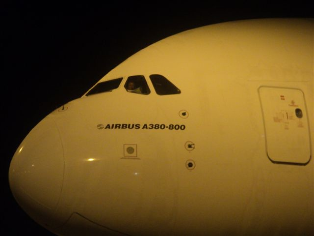 A380 at Colombo