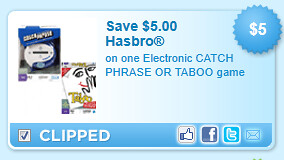 Electronic Catch Phrase Or Taboo Game Coupon