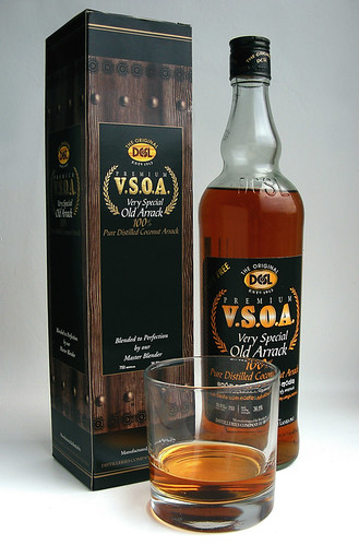 V.S.O.A Very Special Old Arrack