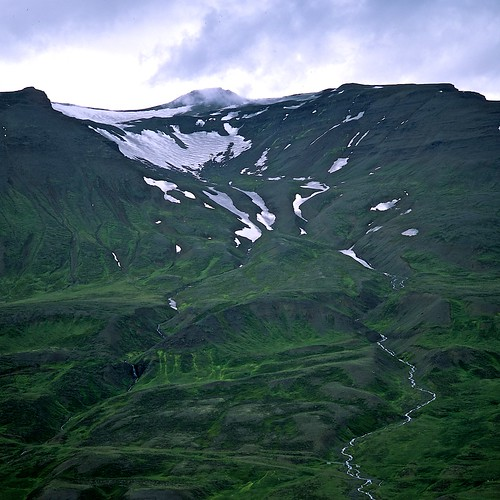 "Image titled ""Ridge, Walking to Sulur, Iceland."""