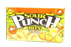 Sour Punch Bits: Tangerine Lemonade