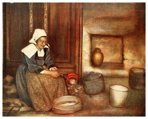 008-En una cocina bretona-Brittany 1912- Mortimer y Dorothy Mempes