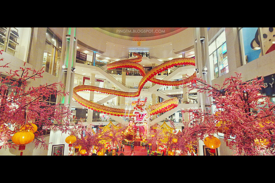 Pavilion CNY Decoration 2012