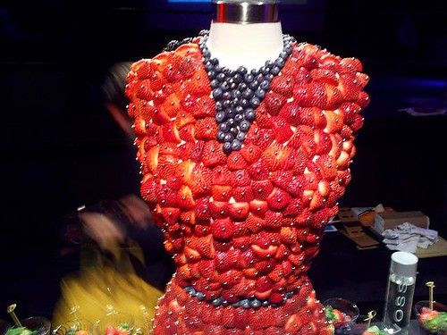 Driscolls Berries on Dress Form
