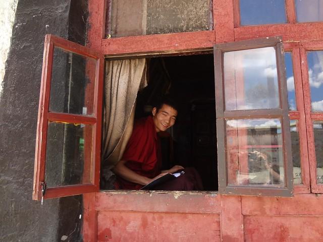 Photo of the Tashilhunpo Monastery in Shigatse, Tibet China