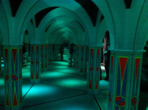 Mirror Maze at MagiQuest in Pigeon Forge