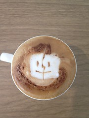 Today's latte, Mac OS... it's a little childish.