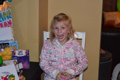 Jessica's seventh birthday