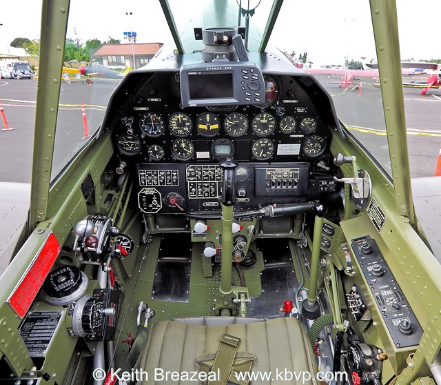 Curtiss P-40 cockpit view © Keith Breazeal | Curtiss P-40 ...