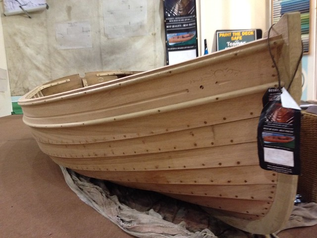 Stirling 9' clinker dinghy