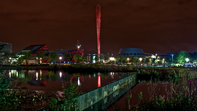 0272 - England, Nottingham, Jubilee Campus Night HDR
