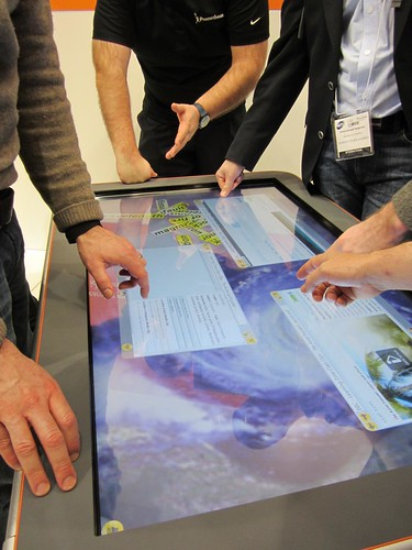 Promethean table @BETT 2012