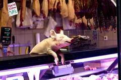Nagycsarnok Pig