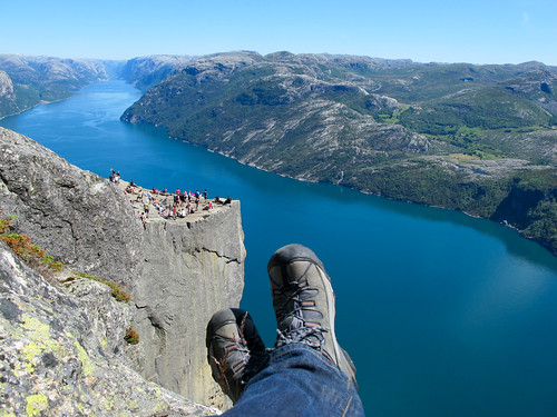 View From Above - Preikestolen