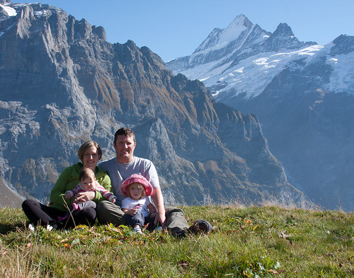 Hoobing Family in the Swiss Alps
