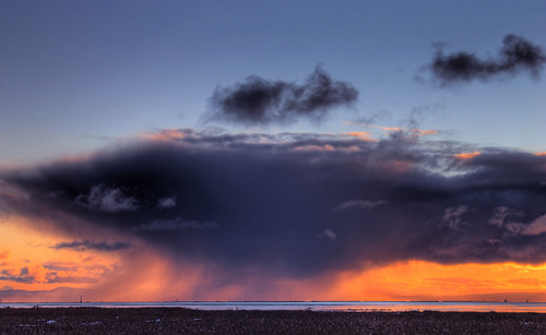 sunset cloud canada storm weather vancouver day bc richmond hdr terranova georgiastrait cumulonimbuscloud regionwide