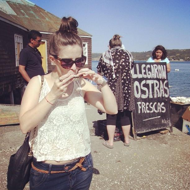 Comiendo ostras