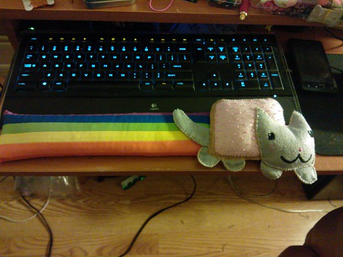 Nyan Cat Wrist Rest