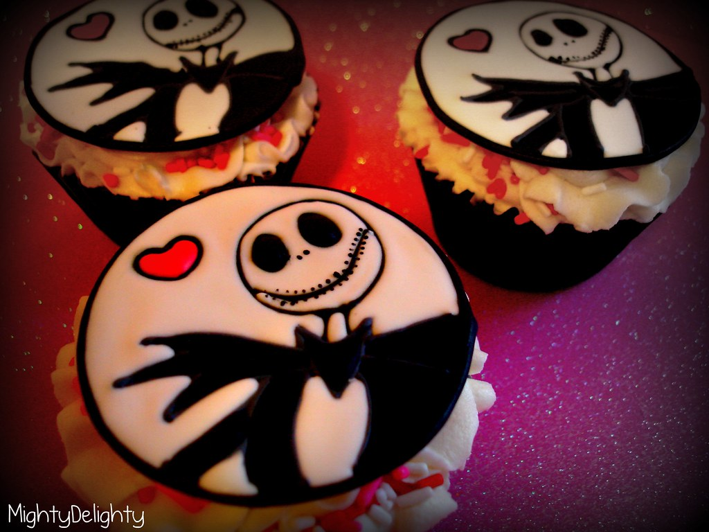 jack skellington valentine s day cupcake toppers and monster high