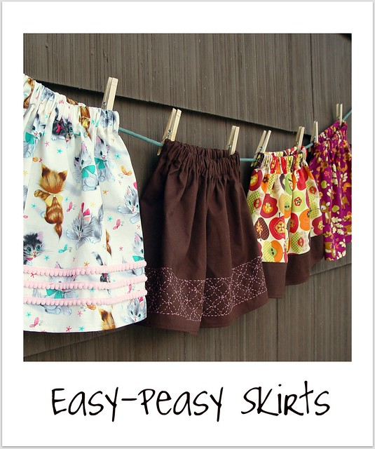 easy peasy skirts