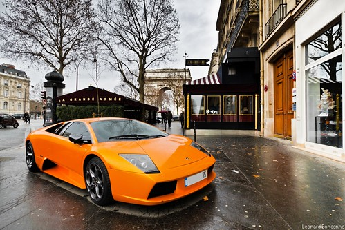 Lamborhini Murcielago, the Orange One.