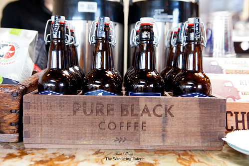 Crate full of Pure Black Coffee