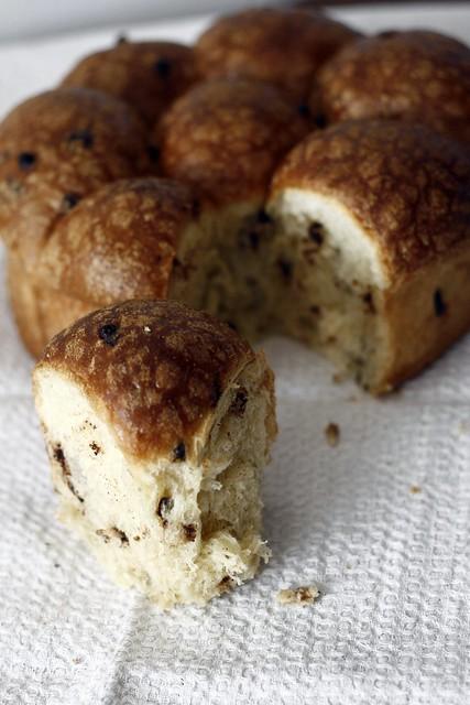 Torta soffice di pasta brioche con lievito naturale