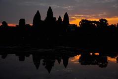 Reflecting Angkor at Sunrise