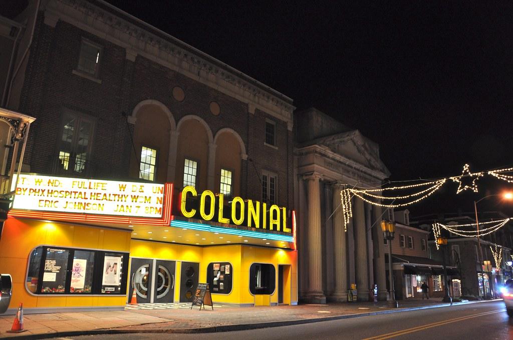 Colonial Theatre Phoenixville PA circa 2012 - Facade #5