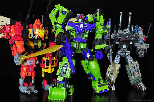 Decepticons combiners