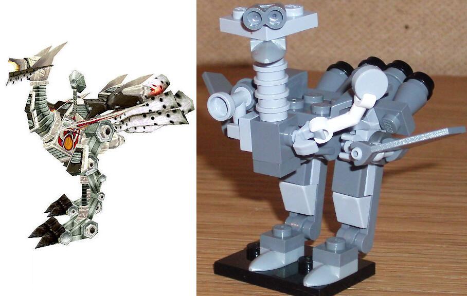 Lego Mechanostrider