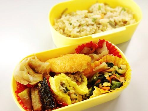 今日のお弁当 No.259 – 鶏ごぼう飯