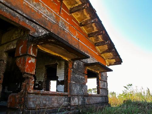 Black Palace at Bokor Hill Station