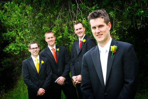 The Groomsmen Formal Shot
