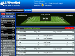 AllYouBet Soccer Supremacy
